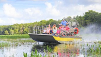 1 Hour Wild Florida Airboat Tour
