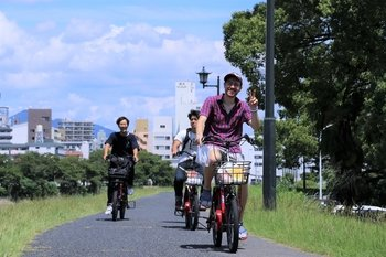 A custom-made Hiroshima cycling tour with local guides