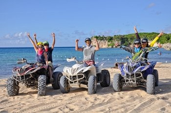 4x4 Quad bike Caribbean Adventure
