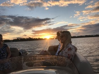 Two Hour Sunset Cruise of the Chain of Lakes Winter Haven
