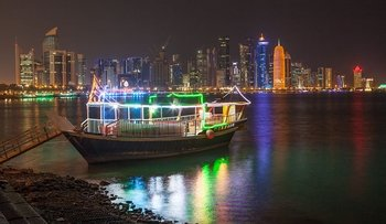 Sunset Dhow Cruise with Doha Corniche Walk
