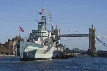See 20+ London Top Sights and go on-board HMS Belfast!