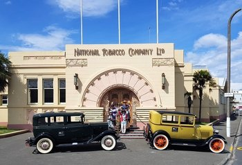 Art Deco City Vintage Car Tour
