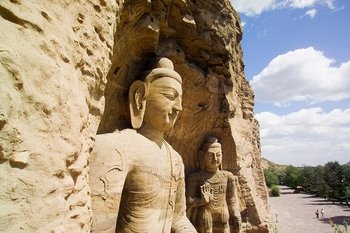 Datong Day Tour of Yungang Grottoes and Hanging Monastery
