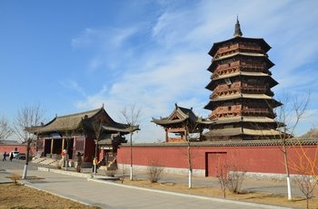 Datong Day Tour of Hanging Monastery and Wooden Pagoda
