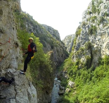 Half day Extreme Canyoning tour from Split