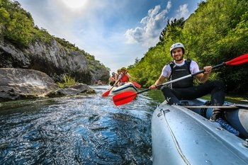 Half day RAFTING tour from Split