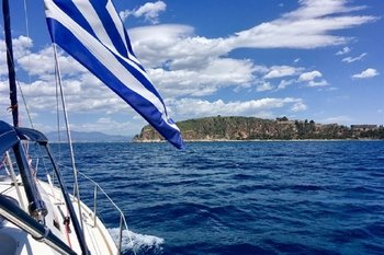 Private Half Day Boat tour by Sailing boat in Nafplio