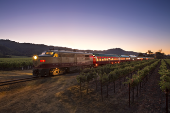 Napa Valley Wine Train Gourmet Express Lunch Package