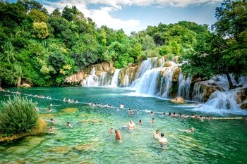 Guided tour to Krka Waterfalls National Park & Skradin