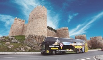 Segovia & Avila by Luxury VIP Class bus and walking tours