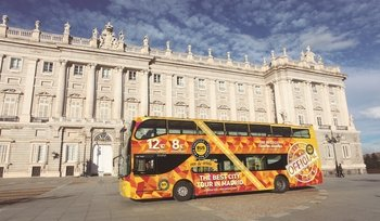 Madrid City Tour by double decker luxury bus