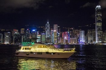 Symphony of Lights Hong Kong Hop-on & off Yacht Night Cruise