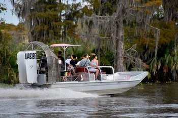 Airboat Adventures: Semi-Private Airboat Experience