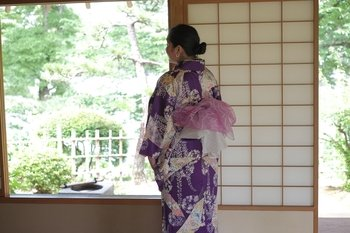 Experience Japanese Culture in Kimono at the Japanese Garden