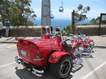 Full Day Mornington Peninsula Motorcycle Trike Tour for 2