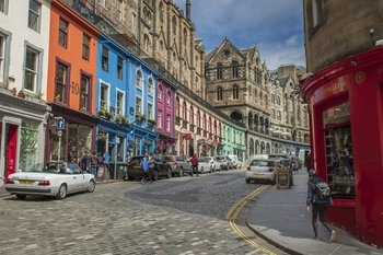Edinburgh Extended Photo Tour with a prof. photographer