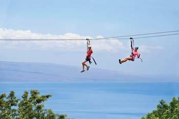 Skyline Eco-Adventures Ka'anapali 11 line Zipline Adventure