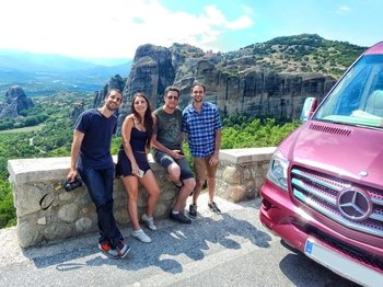 1 Day to Meteora by Train Panoramic from Athens