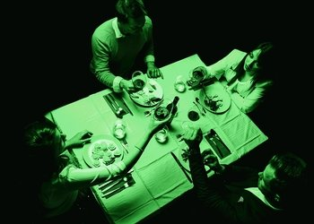 Dinner in the dark