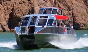 Jet Boat VIP Tour 58 miles down the Colorado River (Calm water)