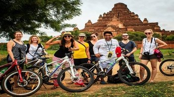 Bagan Temple Cycling Half Day Tour