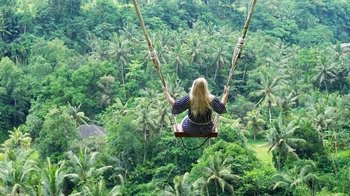 Full-Day Private Tour Swing in Bali with Ubud Monkey