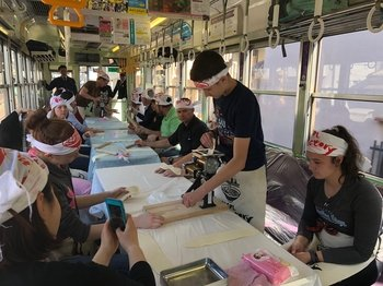 "Ramen Making Experience on the Train ""Ramen Express"""