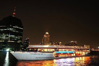 River by Night Dinner Cruise with Optional Return Transfers