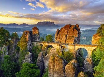Saxon Switzerland Easy Walking & Unlimited Thermal Baths