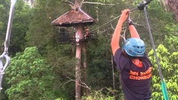 Flight of the Gibbon Zipline Adventure from Bangkok