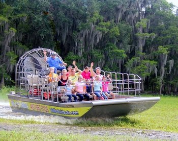 Wild Florida Airboat Adventure Package Tour with Transport