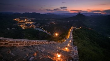 2-Day Private Night Tour to Simatai Great Wall from Beijing