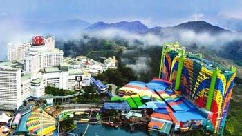 Kuala Lumpur International Airport to RW Genting with Tour