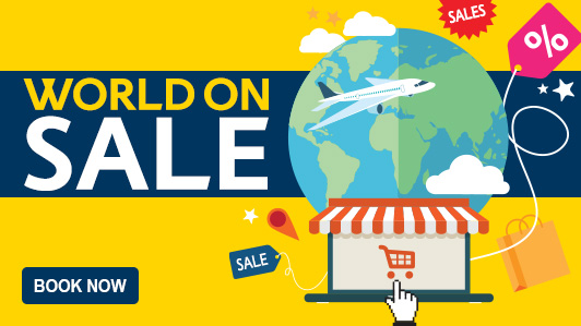 Travel anywhere .. The World is on Sale!