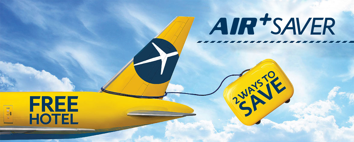 First Time Ever For Air Saver Promotion Book Flight And Hotel Together On A Two Nights Or More Trips To Get Free