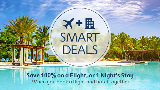 Book a package & make SMART savings