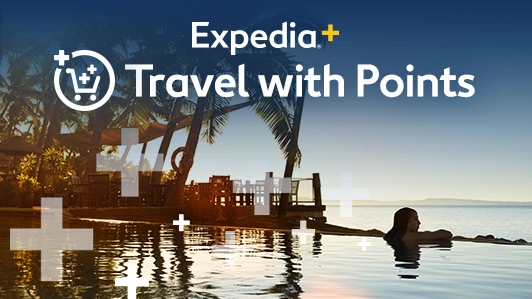 Redeem Expedia+ points towards hotel stays