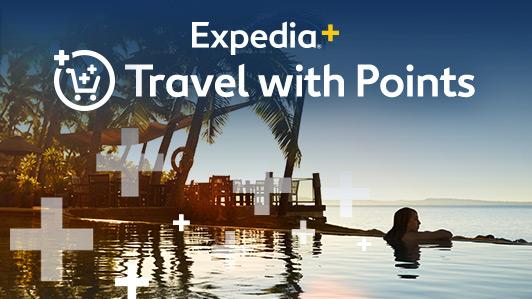 แลกใช้คะแนน Expedia+ เพื่อรับห้องพักฟรี
