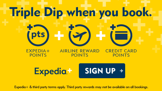 Book now and enjoy triple dip