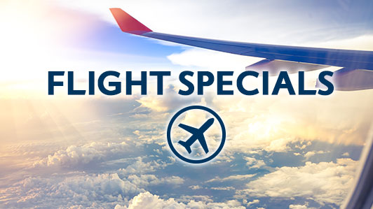 Flight Deals at great prices!