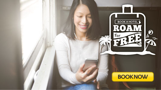 Get FREE Maxis roaming pass with your hotel booking!