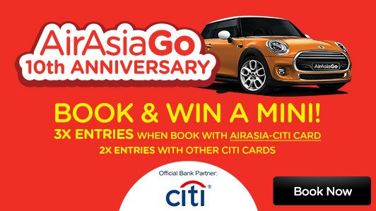 AirAsiaGo 10th Anniversary Special!