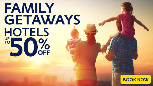 Book your next family holiday here!