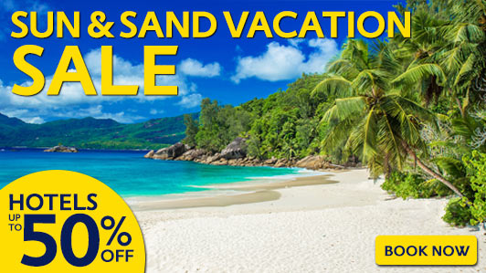 Book your beach vacation here!