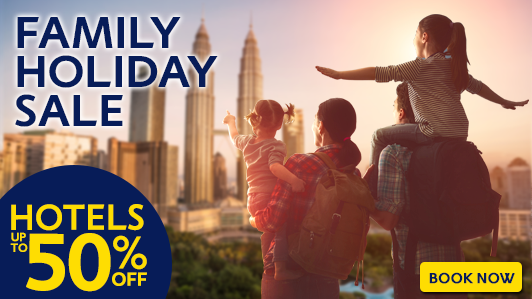 Avail great deals for your family vacation!
