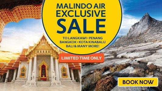 Exclusive Malindo Air Sale