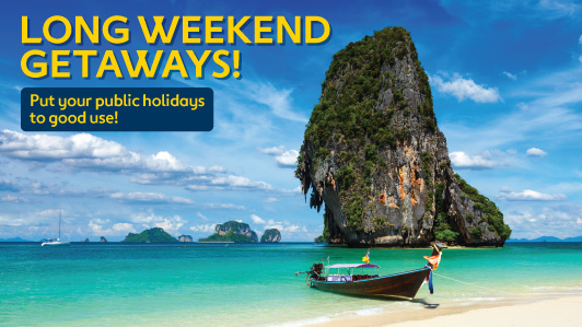 Grab Great Long Weekend Deals Now!