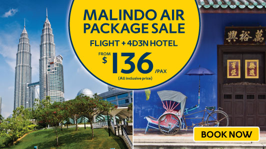 Exclusive deals from Malindo