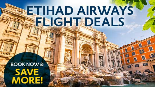 Great fares to Europe with Etihad Airways